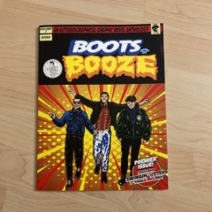 Boots-N-Booze Comic mit Swinging Utters 7inch