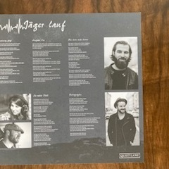 Quiet Lane - Jäger lauf col. Vinyl-LP