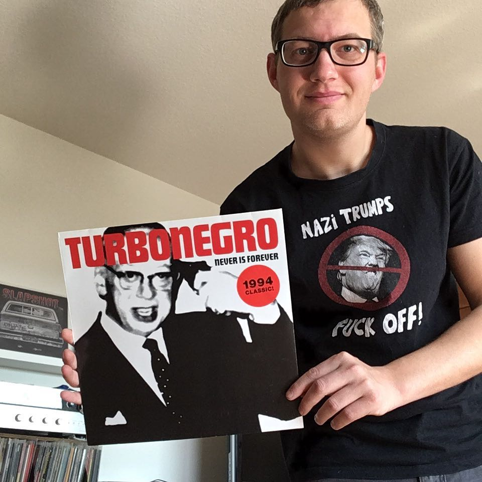 "Turbonegro - ""never is forever"" LP 1"