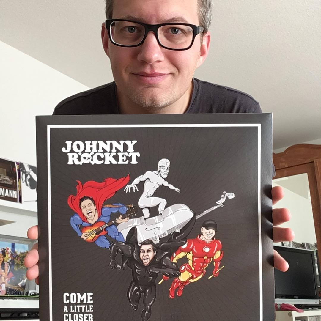 "Johnny Rocket - ""Come a little closer"" LP 1"