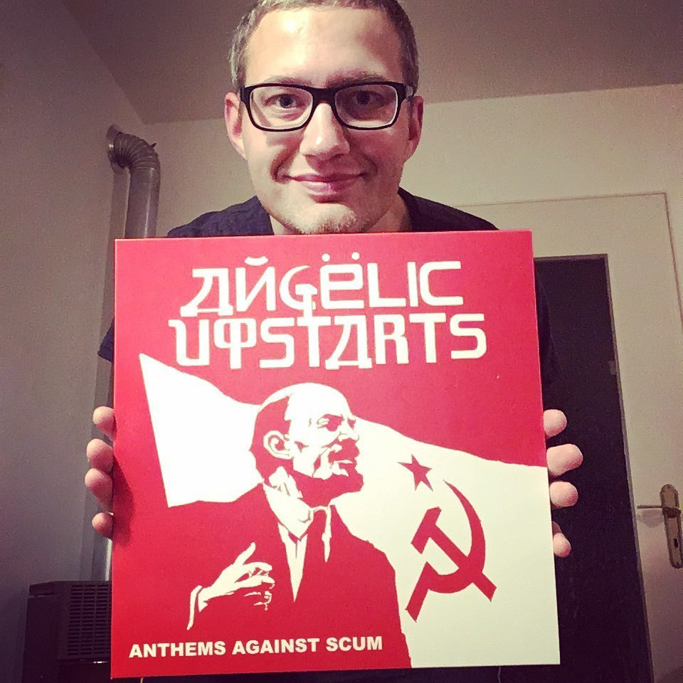 "Angelic Upstarts - ""Anthems against Scum"" LP 1"