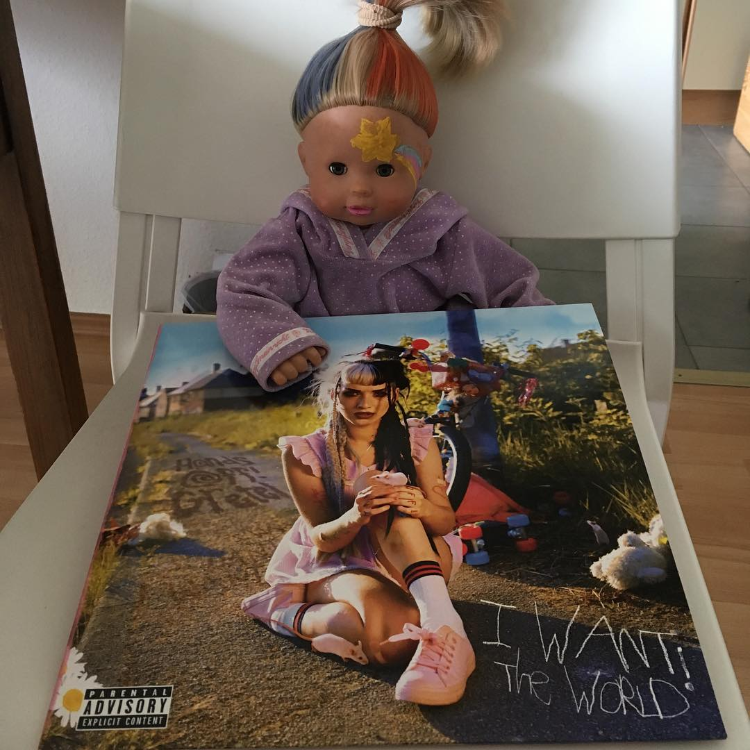 """Hands Off Gretel - """"I want the world"""" LP 1"""
