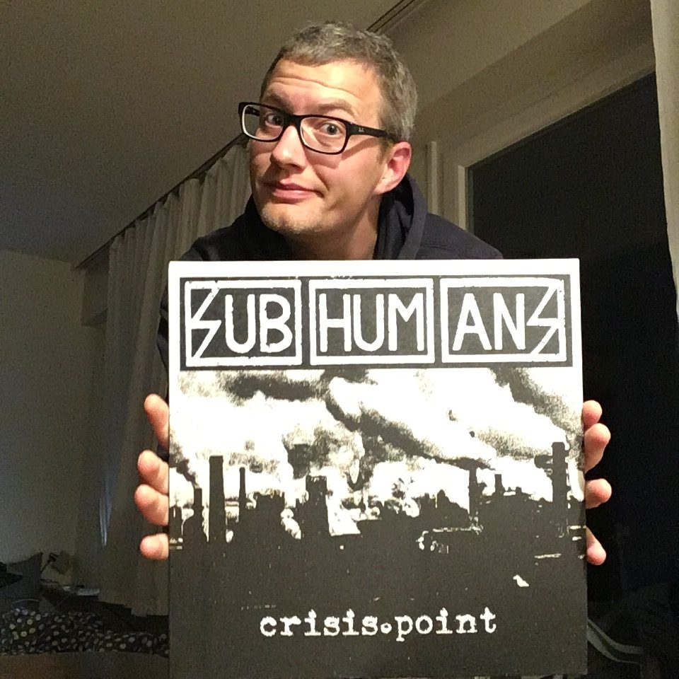 "Subhumans - ""Crisis Point"" LP 2"