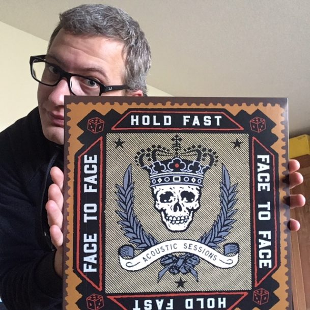 """Face to Face - """"Hold Fast - Acoustic Sessions"""" LP 2"""