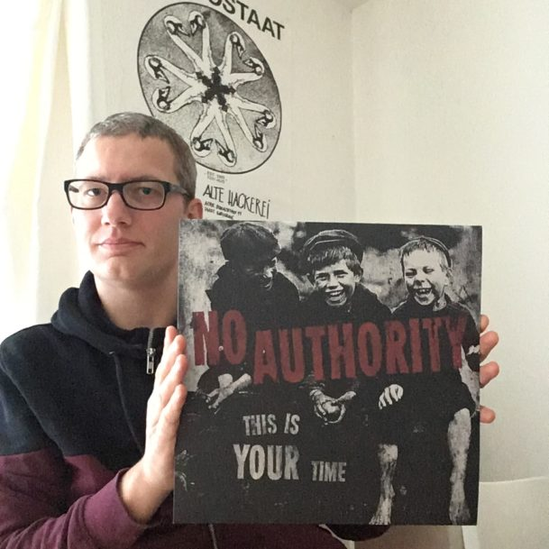 "No Authority - ""This is your Time"" col. Maxi-Single LP 4"