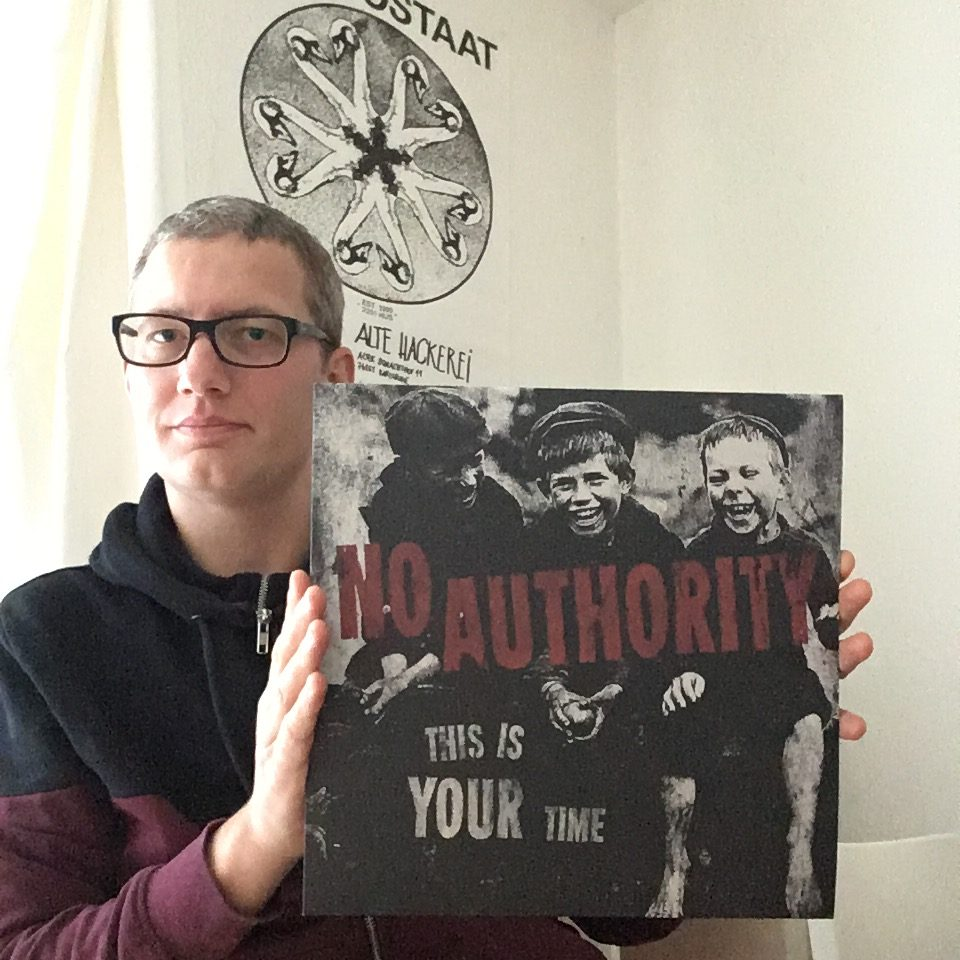 "No Authority - ""This is your Time"" col. Maxi-Single LP 19"