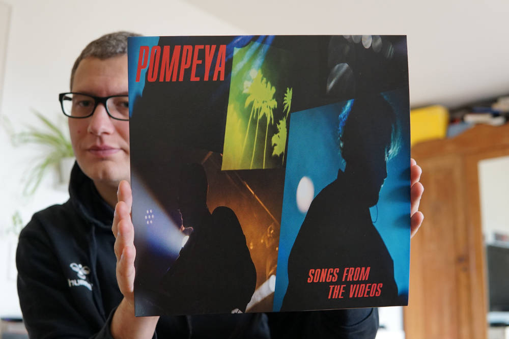 "Pompeya - ""Songs from the Videos"" Vinyl-LP 1"