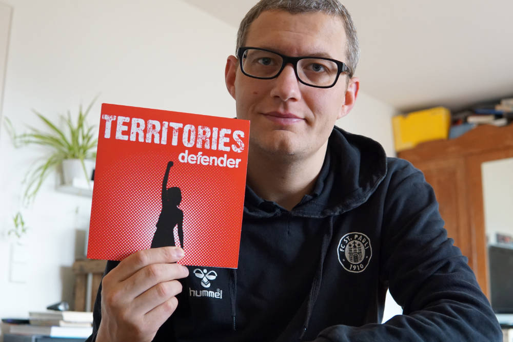 Territories 7inch Cover