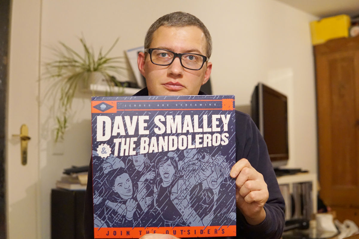 "Dave Smalley & The Bandoleros - ""Join the Outsiders"" LP"