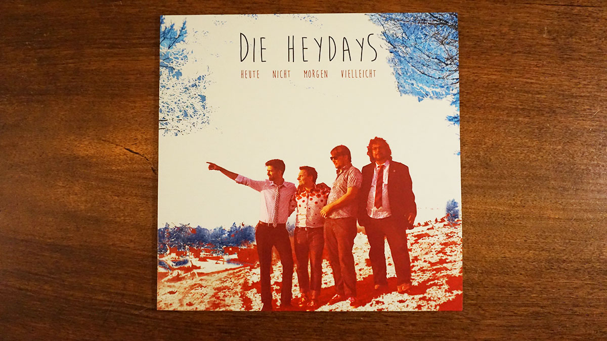 """Die Heydays – """"Heute nicht morgen vielleicht"""" Vinyl-LP"""