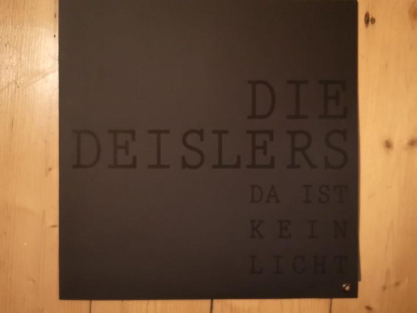 """Die Deislers - """"Da ist kein Licht"""" Vinyl-LP 10"""