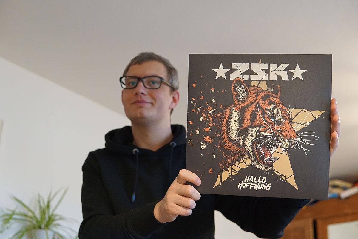 ZSK - Hallo Hoffnung Vinyl-LP