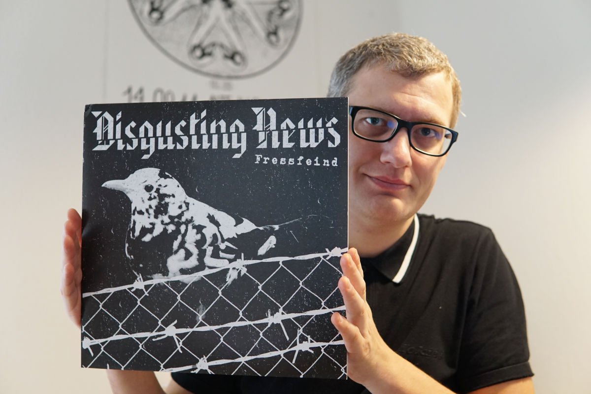Dusgusting News - Fressfeind Vinyl LP