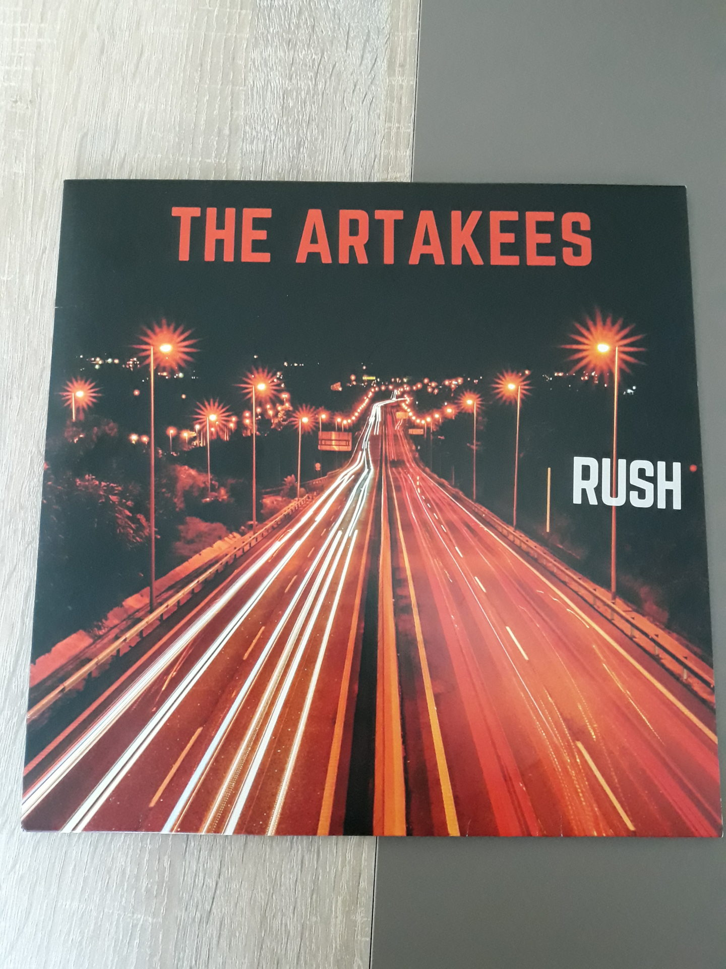 "The Artakees - ""Rush"" Vinyl-LP 8"