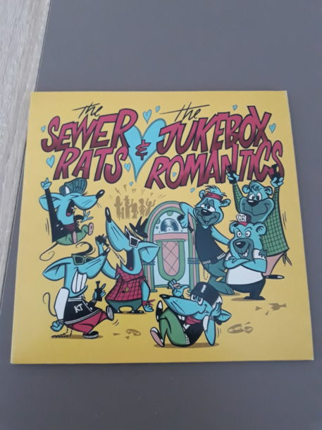 The Sewer Rats & The Jukebox Romantics - Split Vinyl-Single 2