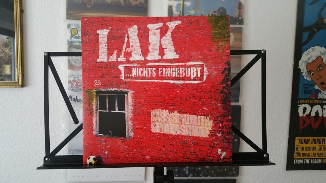 """LAK - """"nichts eingebüßt"""" Vinyl-LP 2"""