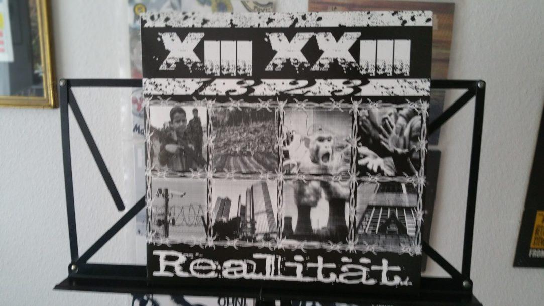 """X III XX III (1323) - """"Realität"""" Vinyl-LP 2"""