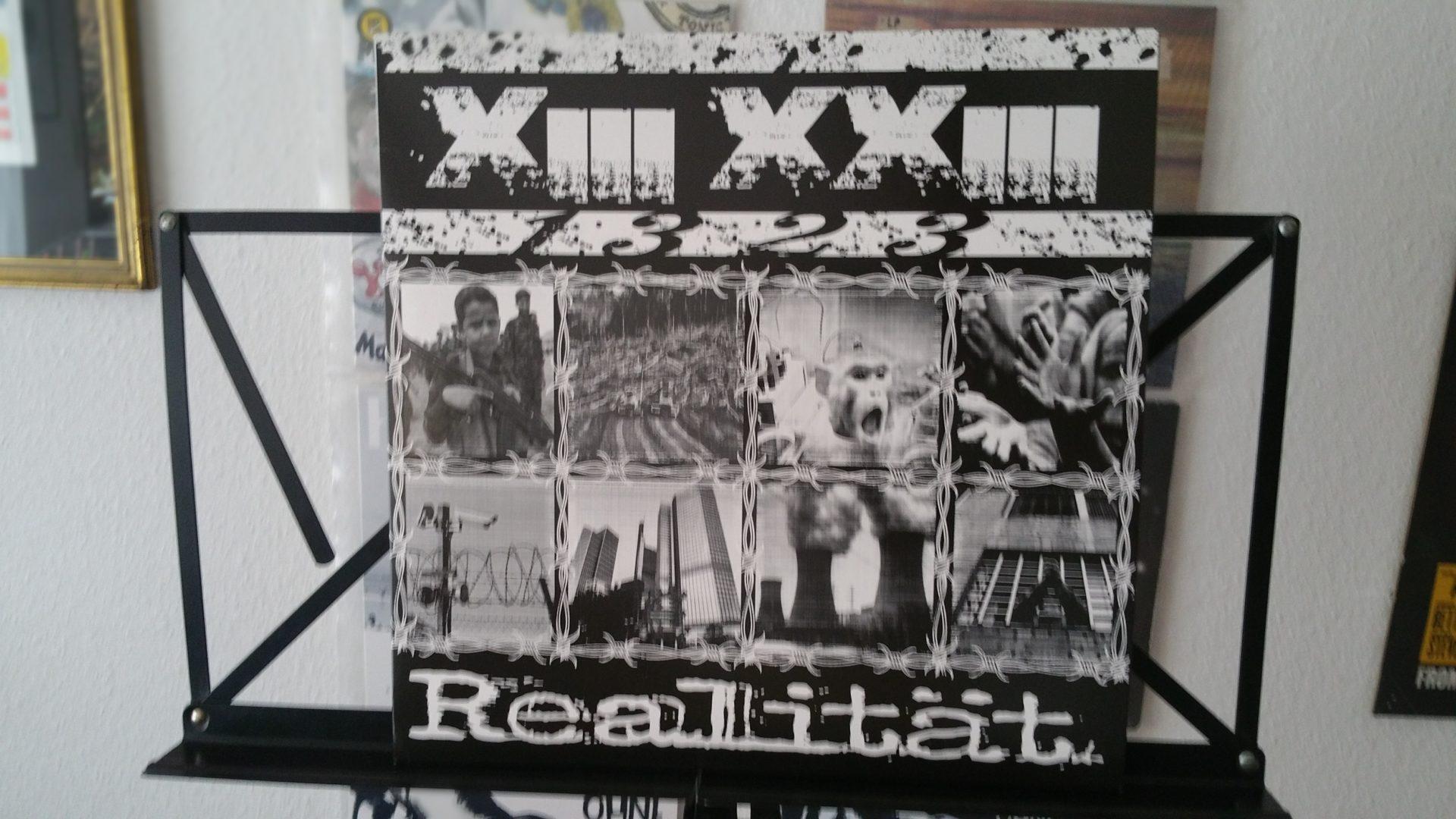 """X III XX III (1323) - """"Realität"""" Vinyl-LP 1"""