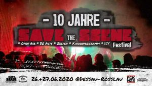 Save the Scene Festival 2020 - Dessau-Roßlau