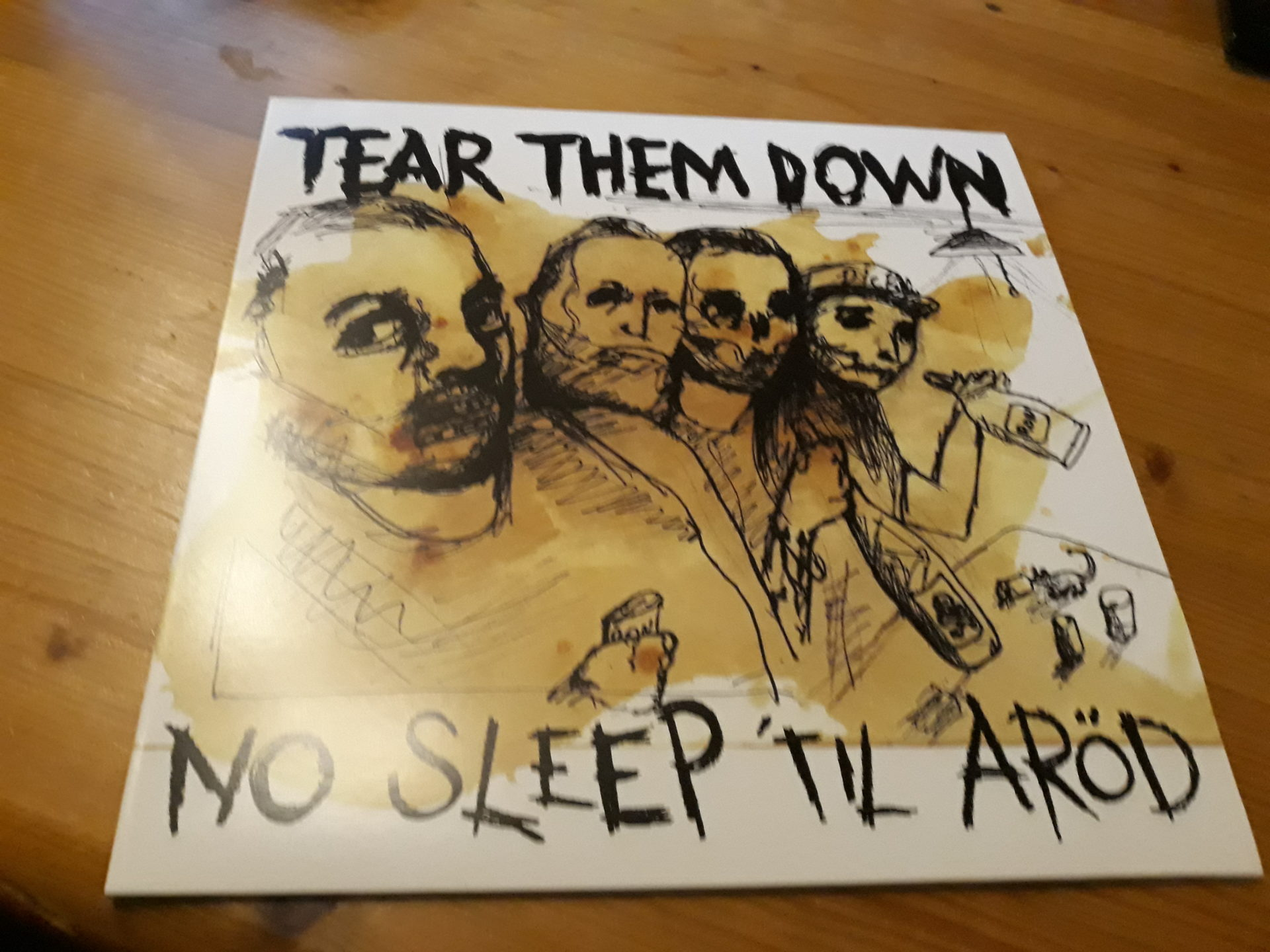 "Tear Them Down - ""No Sleep Til Aröd"" 12inch - Vinyl-EP 1"