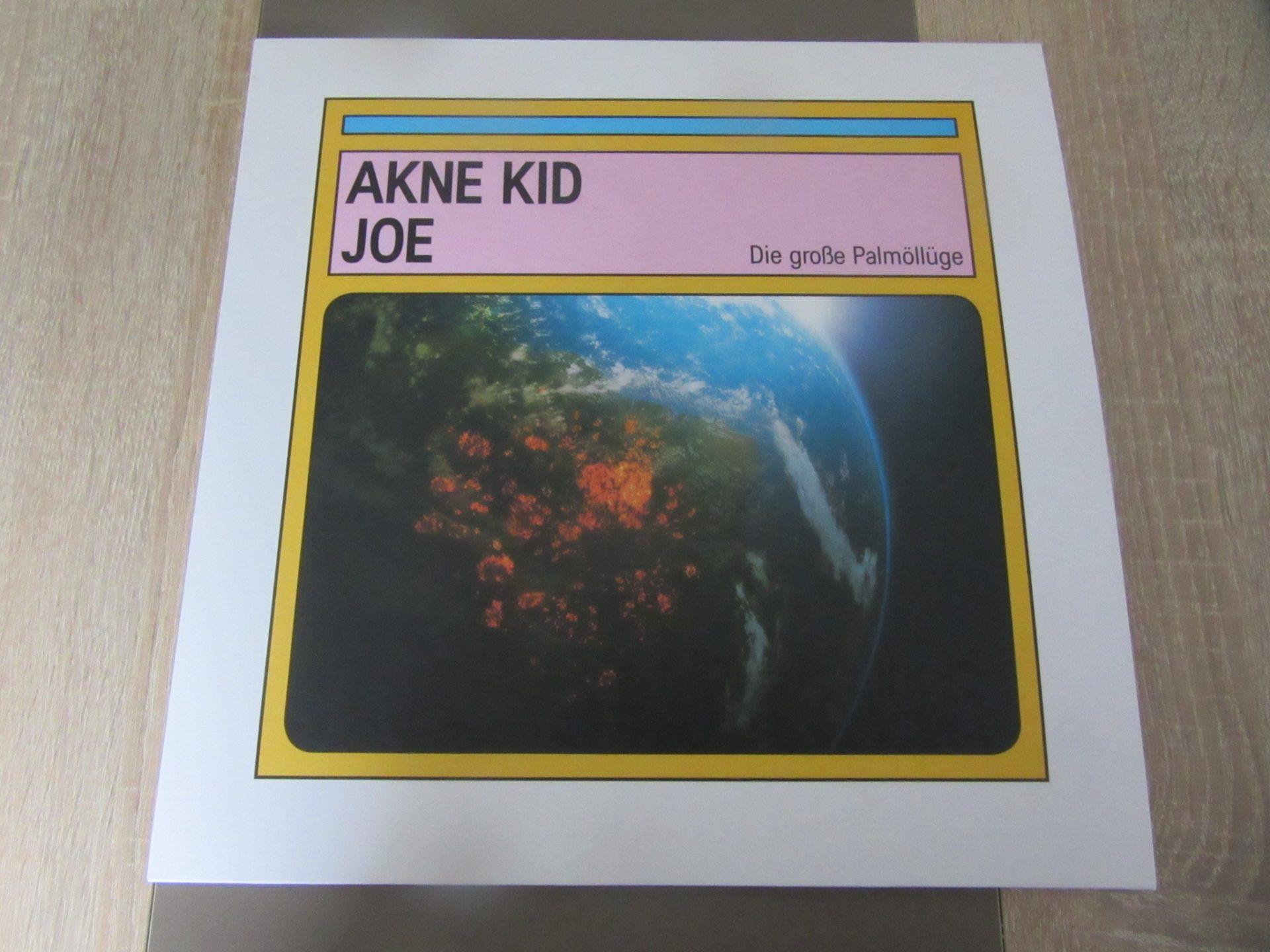 """Akne Kid Joe - """"Die Große Palmöllüge"""" Vinyl-LP 2"""