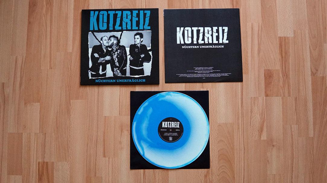 Kotzreiz - Nüchtern unerträglich col. Vinyl-LP