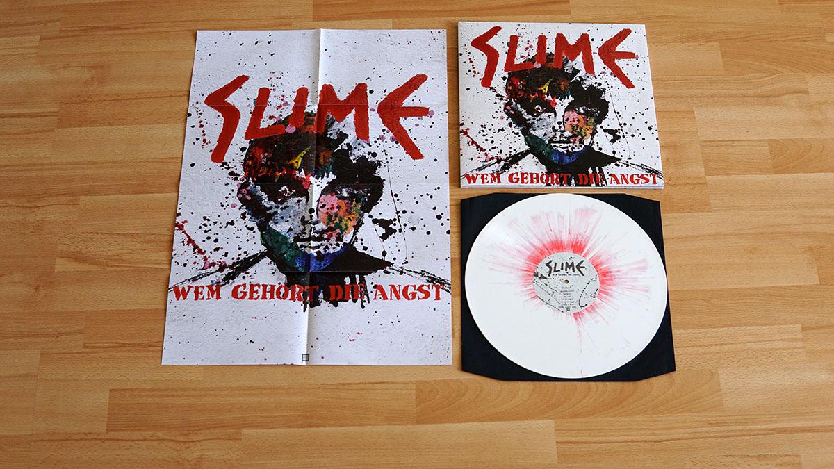 Slime - Wem gehört die Angst Vinyl-LP