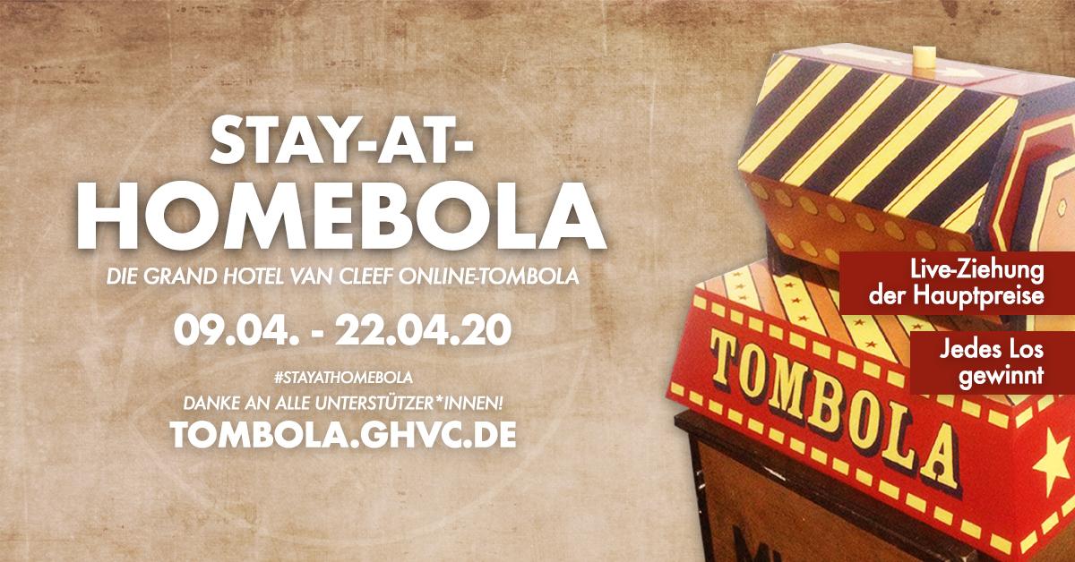 Grand Hotel van Cleef startet Online-Tombola