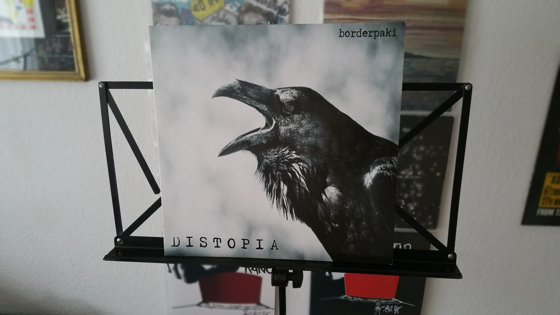 """Borderpaki - """"Distopia"""" Vinyl-LP 1"""