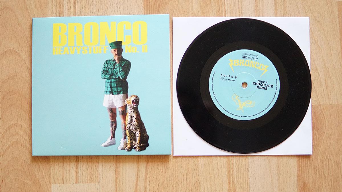 Bronco - Heavystuff II 7inch Vinyl