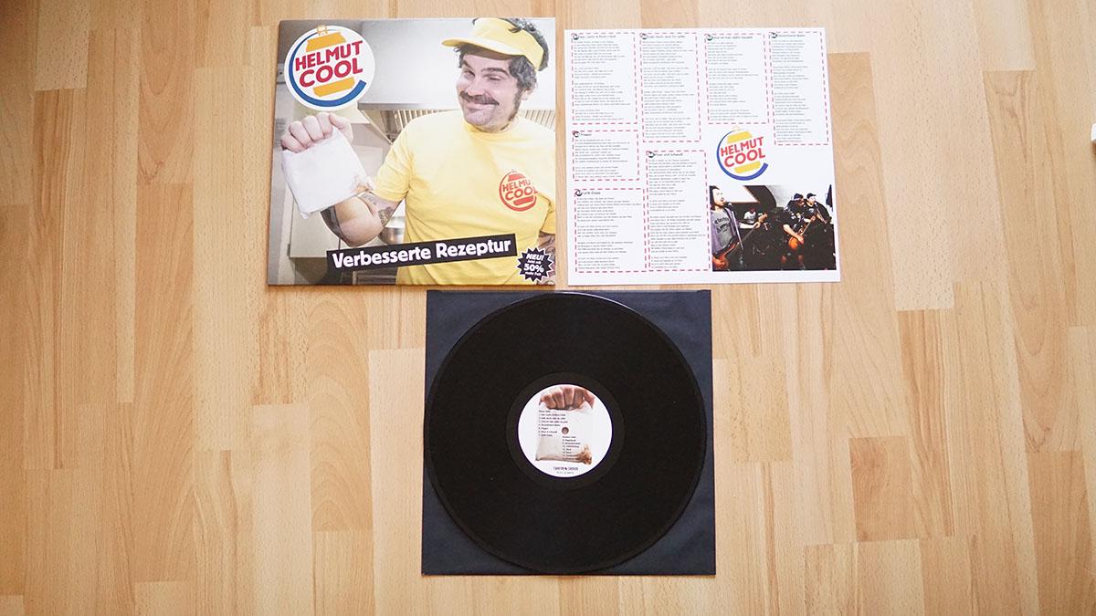"Helmut Cool – ""Verbesserte Rezeptur"" Vinyl-LP"