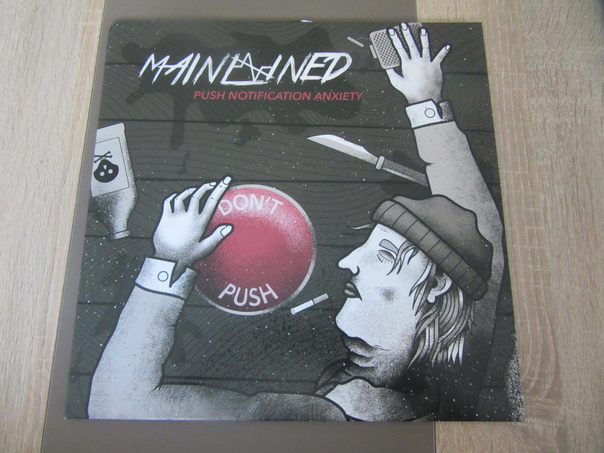"Mainlined - ""Push Notification Anxiety"" Vinyl-LP 1"