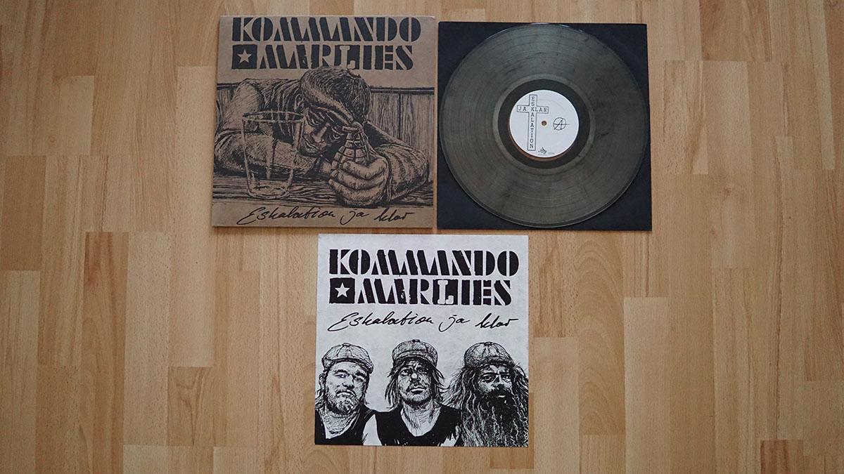 Kommando Marlies – Eskalation ja klar Vinyl-LP