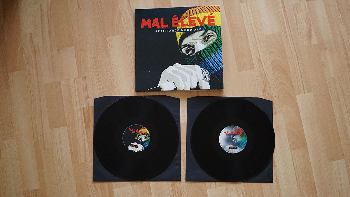 """Mal Élevé – """"Résistance Mondiale"""" Vinyl-LP"""