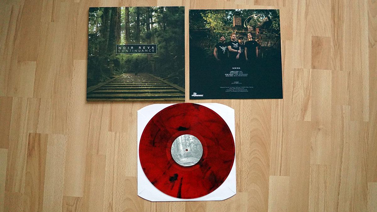 Noir Reva - Continuance - col. Vinyl-LP