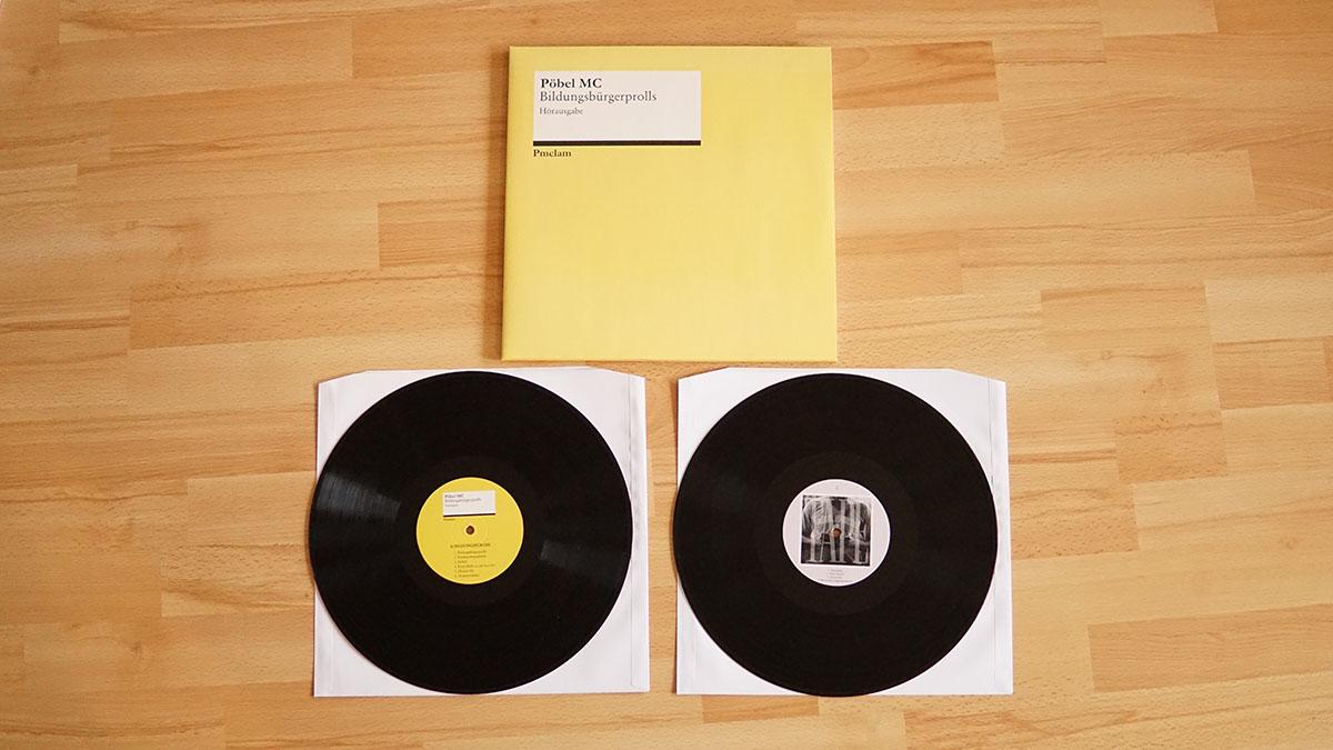 Pöbel MC - Bildungsbürgerprolls Vinyl-LP