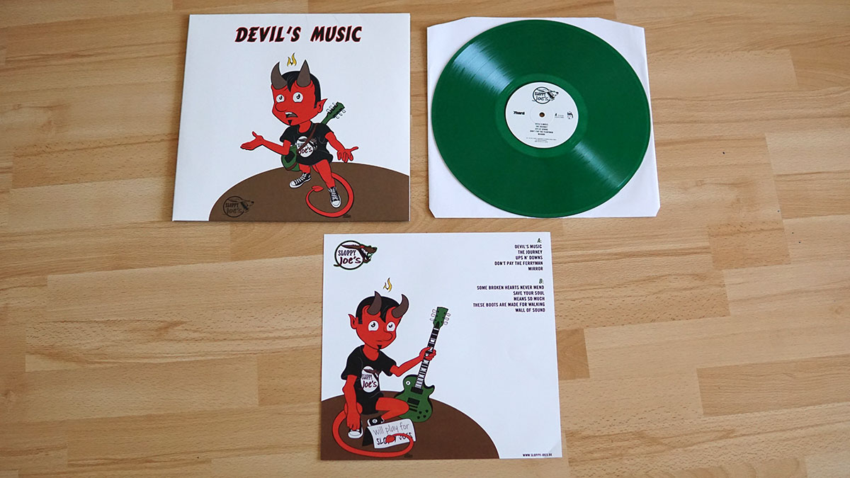 Sloppy Joe´s - Devil´s Music col. Vinyl LP