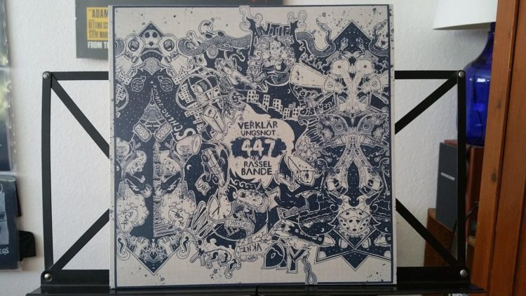 "Verklaerungsnot - ""447 Rasselbande"" Vinyl LP 1"