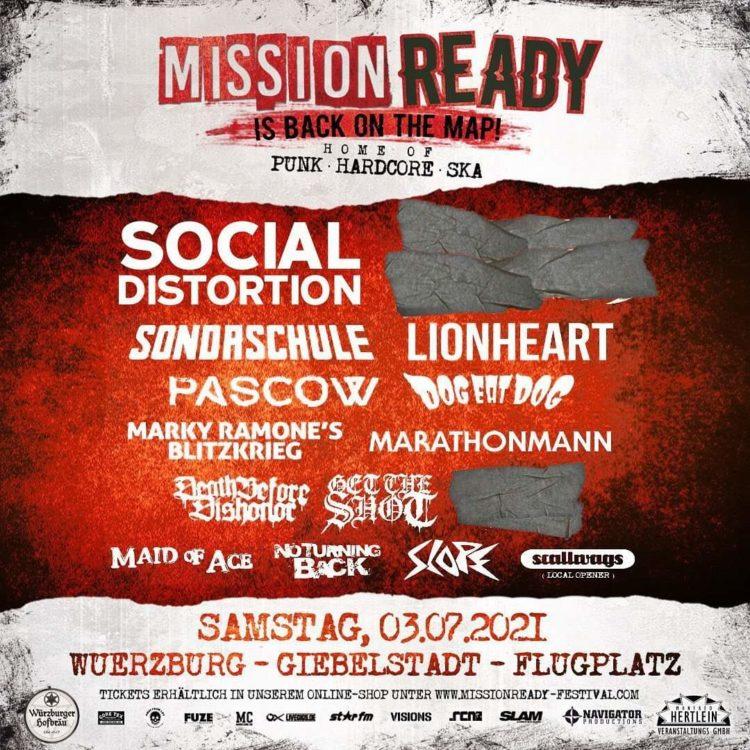 Mission Ready 2021 - Weitere Bands bestätigt 1