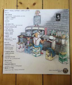 Don't Panic Club & Pub Support Compilation - Vinyl LP 1