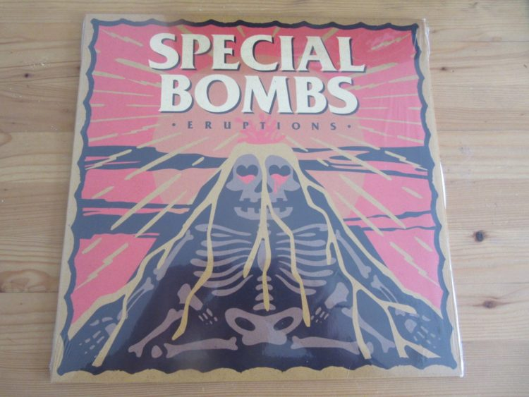 "The Special Bombs - ""Eruptions"" col. Vinyl-LP 1"
