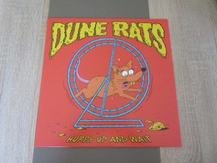 "Dune Rats - ""Hurry up and wait"" Picture-Vinyl-LP 1"