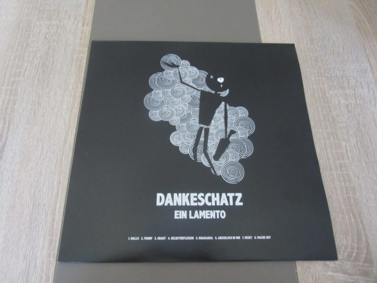 Dankeschatz - Ein Lamento & Jaja Vinyl-LP 1