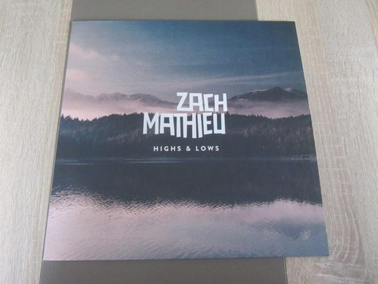 Zach Mathieu - Highs & Lows Vinyl-LP 1