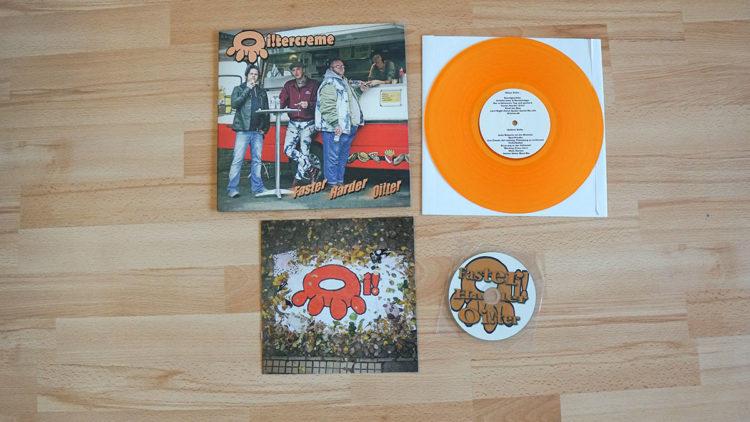 Oi!tercreme - Faster Harder Oi!ter Vinyl-LP