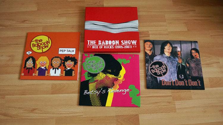 The Baboon Show - Box of Rocks 2005-2007