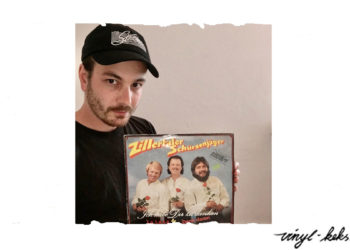 Vinylsünde mit Julian Bassist bei Von Wegen Lisbeth