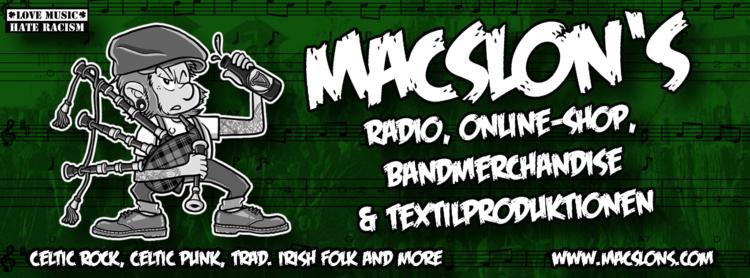 MacSlons Shop - Celtic Punk Powershoppen am 01.07. ist angesagt 1
