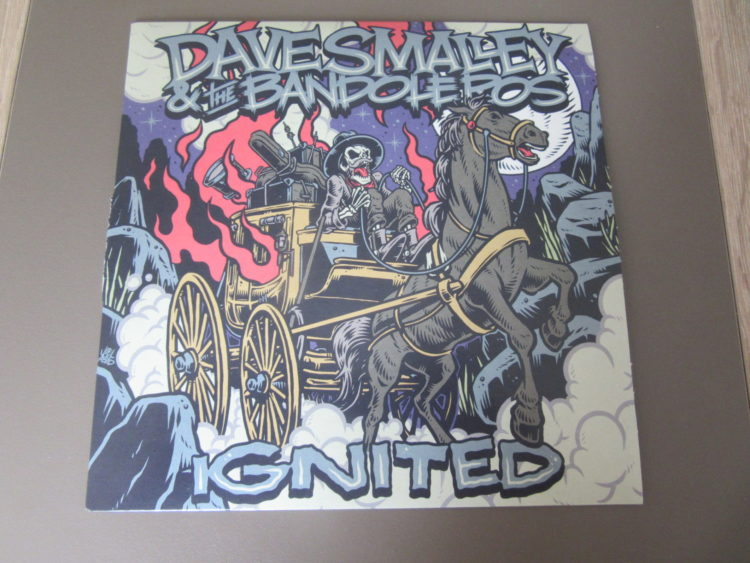 Dave Smalley & The Bandoleros - Ignited col. Vinyl-Single 1