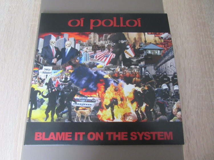 Oi Polloi - Blame it on the System col. Vinyl-10inch 1